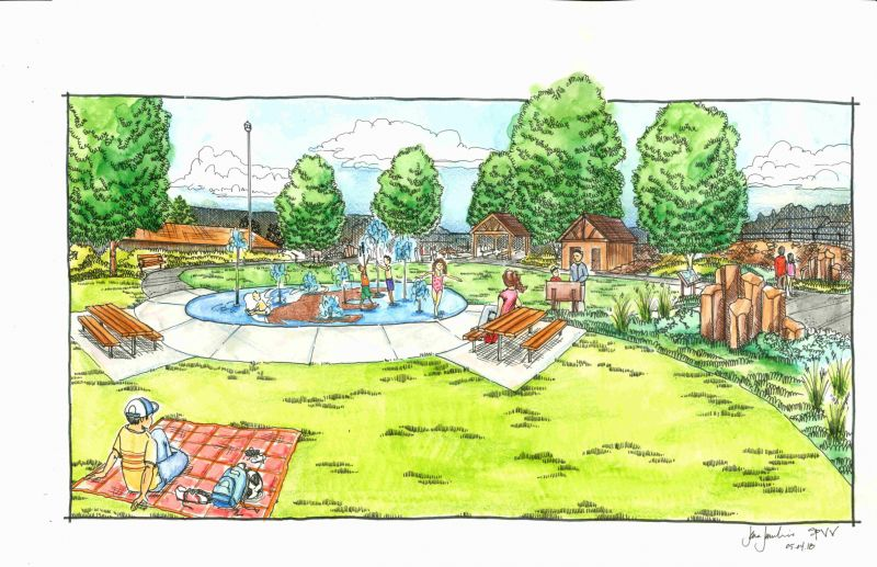 Ice Age Park Plans -SPLASHPAD